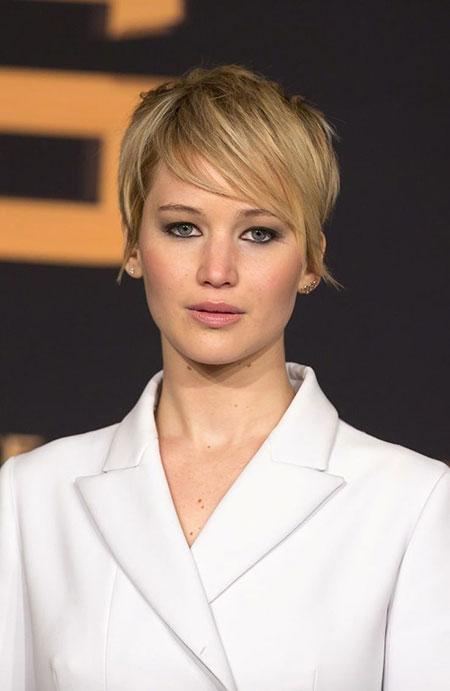 Pixie Celebrity Jennifer Lawrence