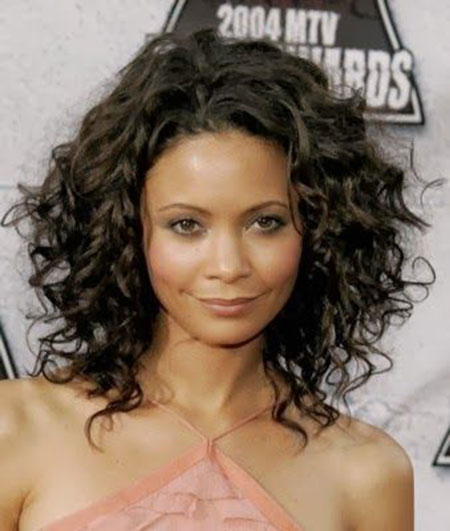 Curly Hair Styles Under