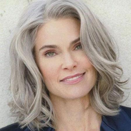 Hair Fine Gray Older