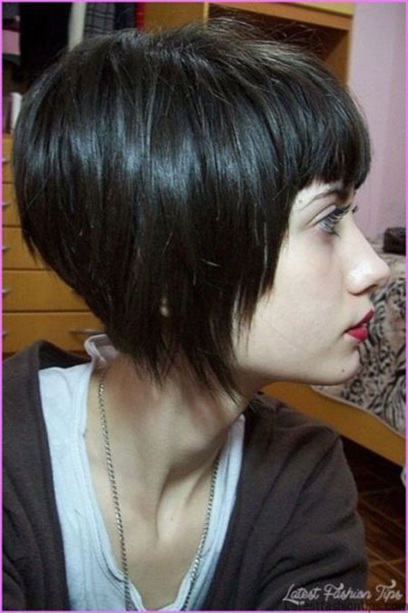 Hair Bob Brunette Hairtyles