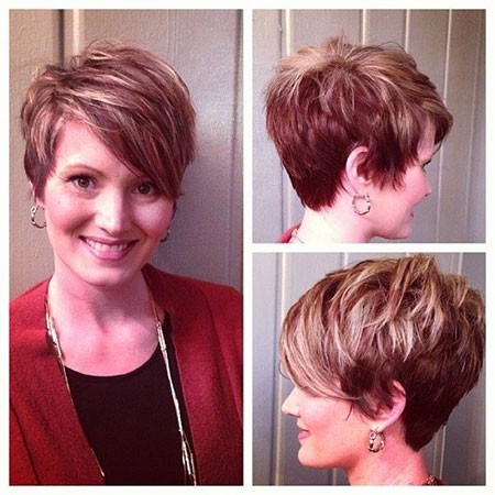 10 short straight hairstyles for round faces  short