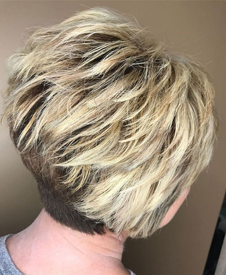 Pixie Blonde Bobs Choppy