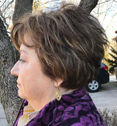 Layered Short Pixie Layers