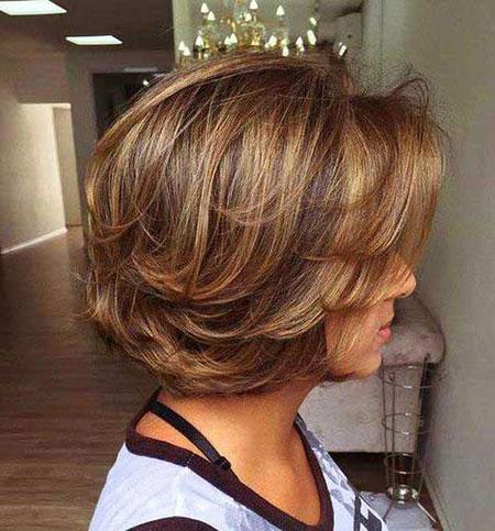 Bob Hair Layered Should
