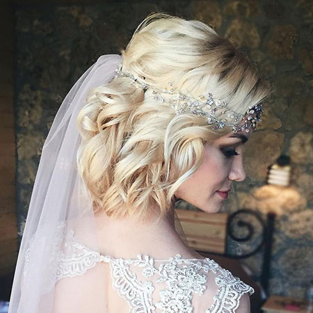 Wedding Hair Curly Bridal