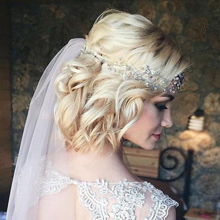 Wedding Hair Curly Bridal