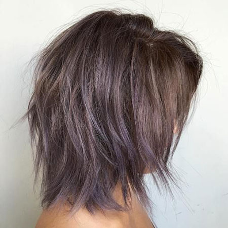 Bob Purple Balayage Inverted