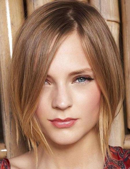 Niedlicher Kurzhaarschnitt für dünnes Haar, dünnes Haar Bob-Frisuren