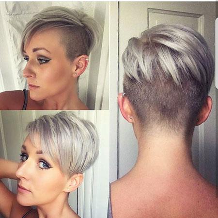 Latest Short Haircut, Pixie Short Cut Undercut
