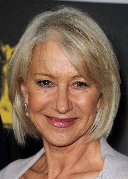 Short Hairtyle for Fine Hair Over 60, Women Short Hairtyles 50