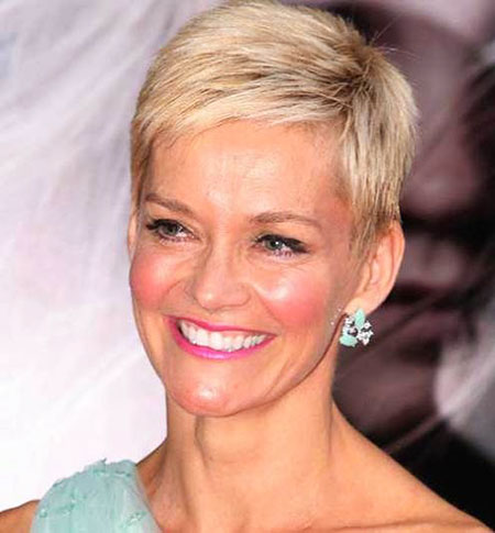 Short Pixie Hair Thin