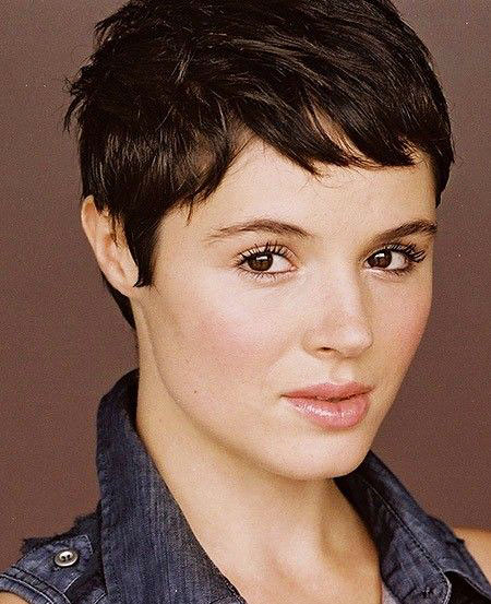 Pixie Short Hair Thick