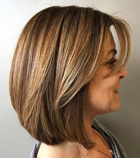 Layered Length Modern Bob