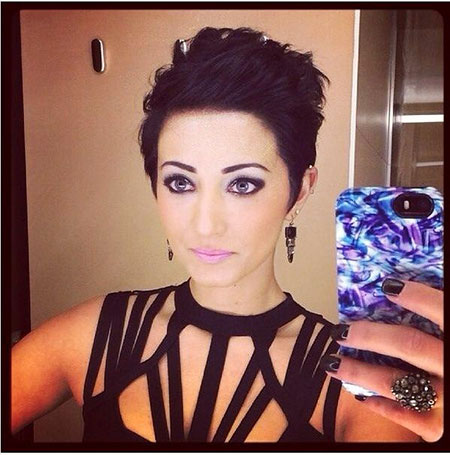 Pixie Dark Cute Hair