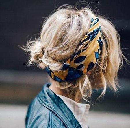 Hair Headband Hairtyles Short