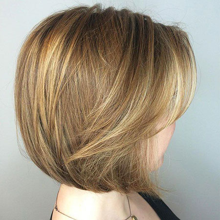 Blonde Hair Women Layers