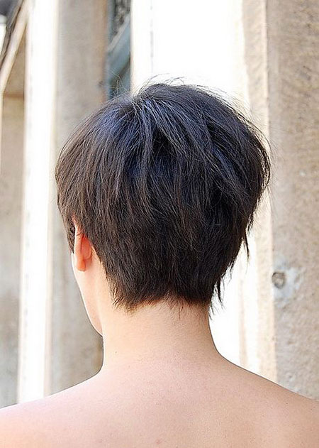 Pixie Shag Back View
