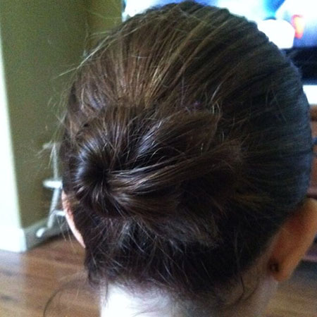 Hair Bun Easy Buns