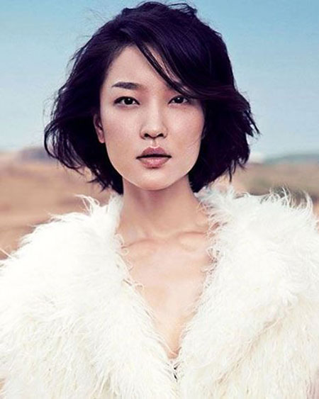 Hair Bob Short Asian