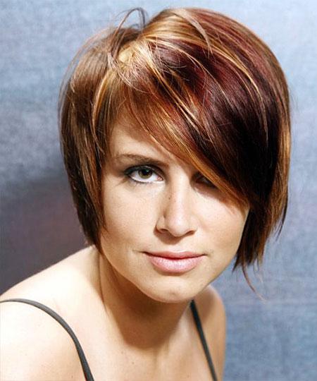 Short Straight Hair Casual