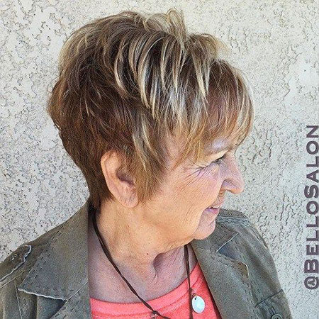 20 Short Hairstyles For Fine Hair Over 60 Short