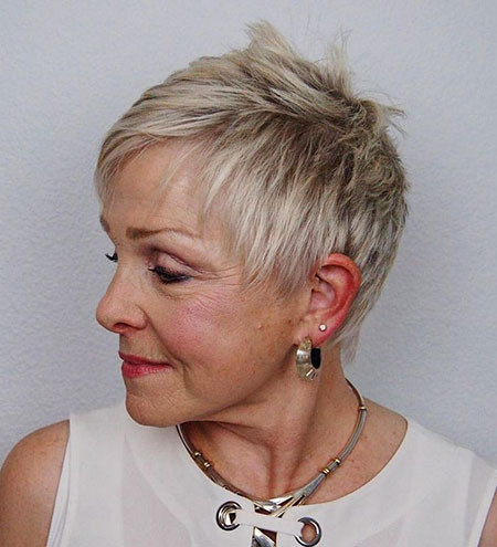 Short Over 60 Hairtyles
