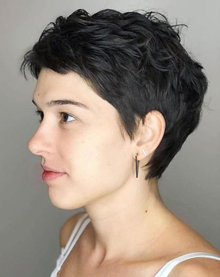 Pixie Messy Cut Tapered