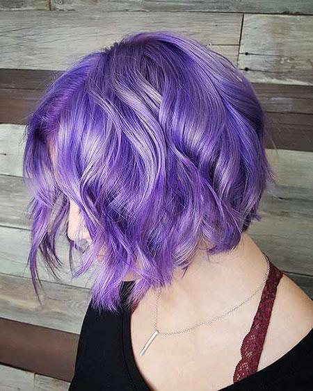 Hair Purple Color 30