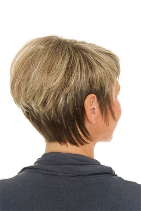 Hair Short Back Stacked