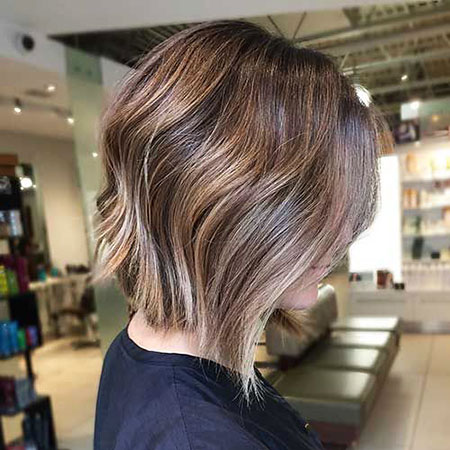 Balayage Bob Women Colored