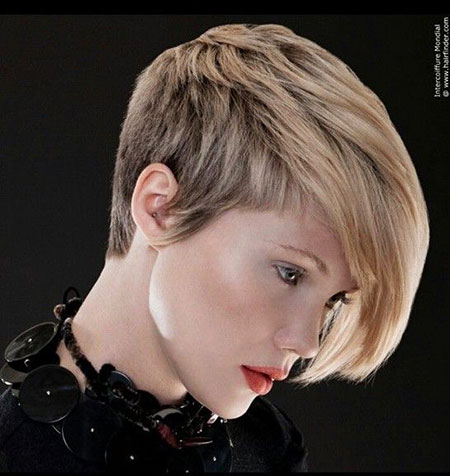 Asymmetrical Short Pixie Hair, Short Hair Pixie 30