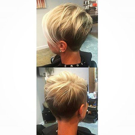 Blonde Pixie, Pixie Short 30 2017