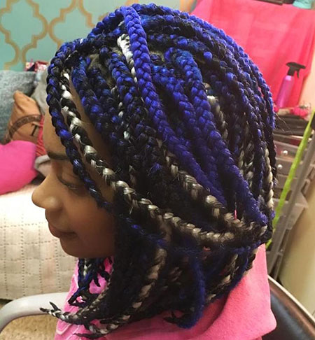 Cool Braids, Braids Box Blue Black