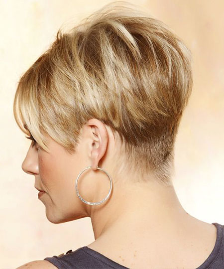 Wedge Pixie Hair, Pixie Wedge Blonde Tapered