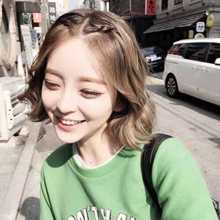 Braided Cute Hair, Hair Hairtyles Lob Short