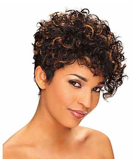 Curly Hair, Curly Hair Short Wigs