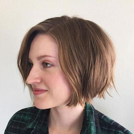 Bob Choppy Hair - Haarschnitte