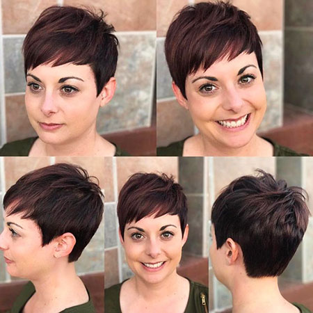Pixie Short Hair Crop