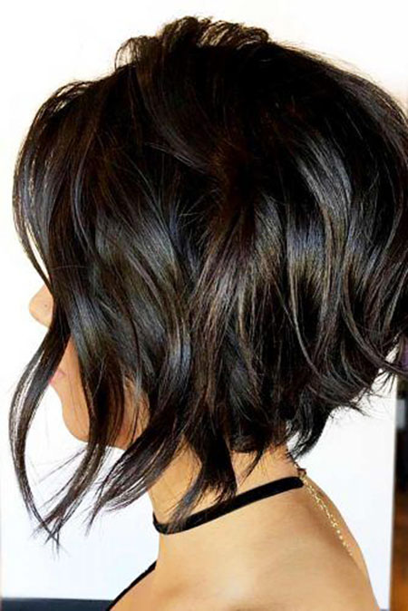 Bob Brown Balayage Brunette