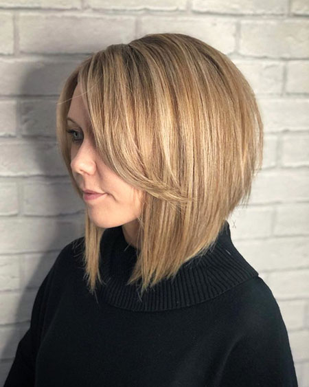 Bob Blonde Thick Balayage