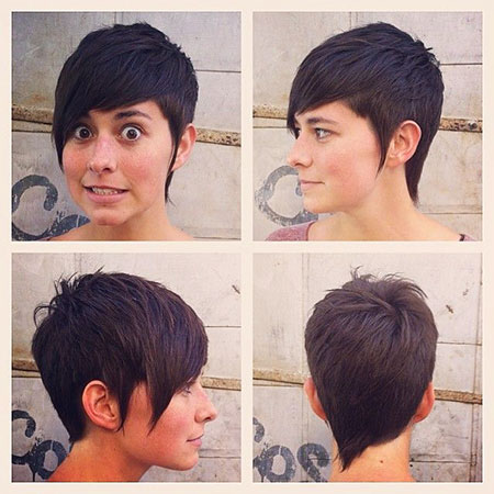 Pixie Short Hair Summer