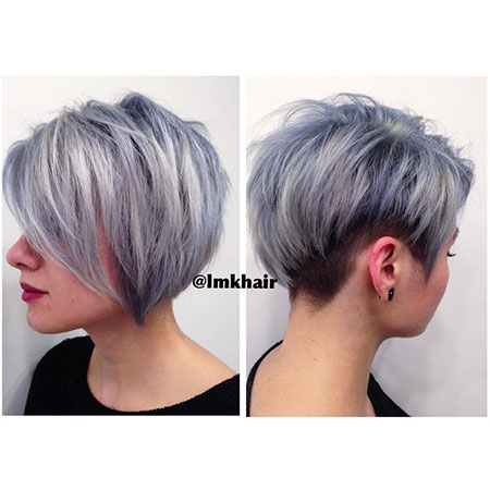 Pixie Gray Ombre Stacked