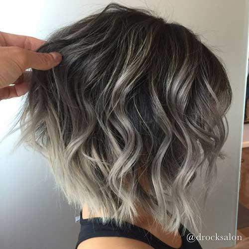 Different Short Hair Color Ideas Short Hairstyles Haircuts 2019 2020