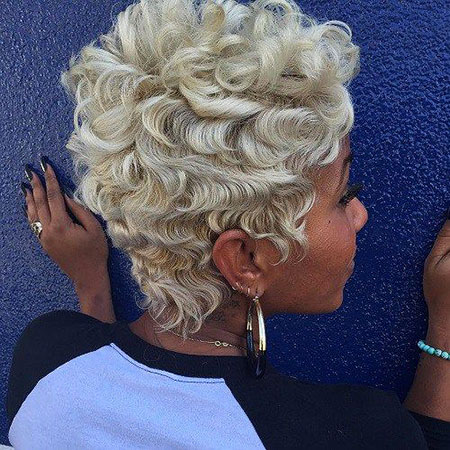 Short Haircuts for Black Women - 10-