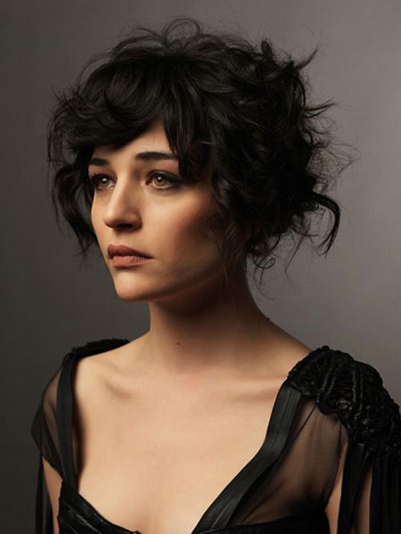 Short Hairstyles with Bangs - 14-