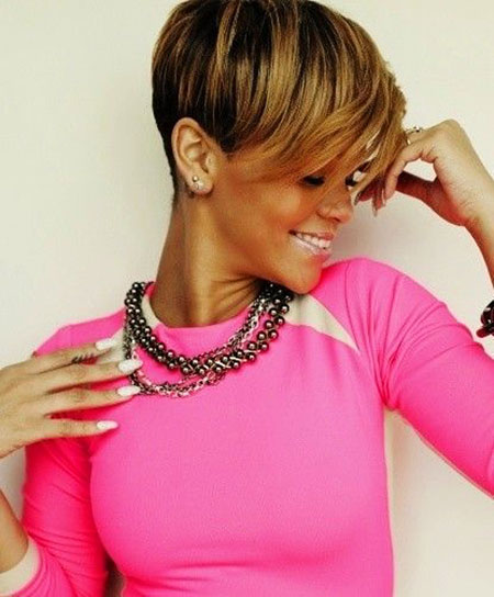Short Haircuts for Black Women - 18-