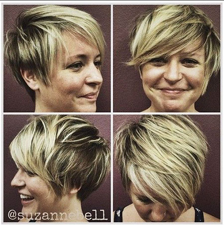 Short Hairstyles with Bangs - 18-