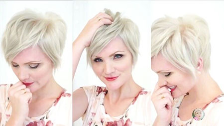 Short Hairstyles with Bangs - 20-