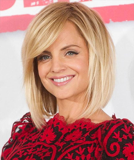 Short Hairstyles with Bangs - 28-