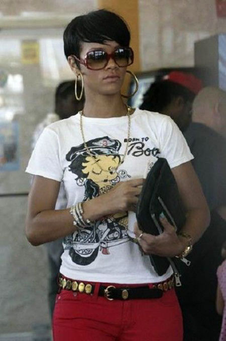 Short Haircuts for Black Women - 32-